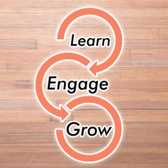 Learn Engage Grow
